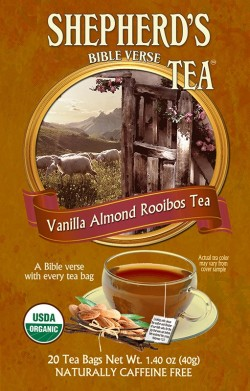 Vanilla Almond Rooibos Bible Verse Tea