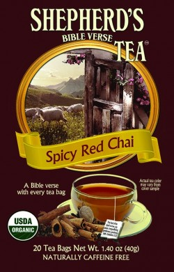 Spicy Red Chai Bible Verse Tea