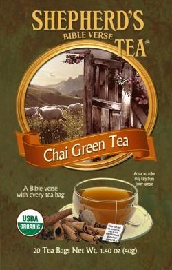 Chai Green Bible Verse Tea