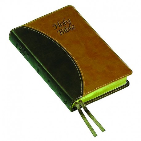 Windsor Text Bible - KJV - Two Tone Brown