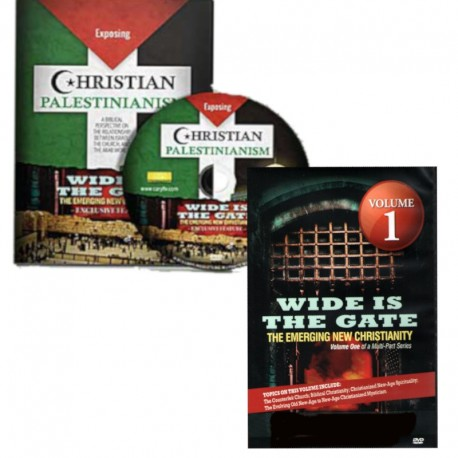 Wide is the Gate-Vol. 1/Christian Palestinianism - DVD SET