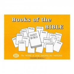 Books of the Bible Coloring Book 4 - Outline Texts