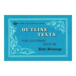 Outline Texts Coloring Book 11