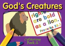 """God's Creatures"" - Coloring Book 16"