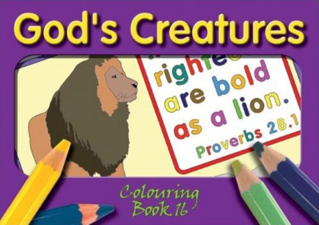 God's Creatures - Coloring Book 16