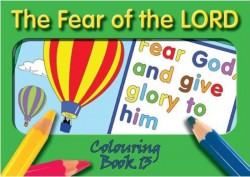 """The Fear of the LORD"" - Coloring Book 13"