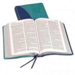 Windsor Text Bible - KJV - Two Tone Blue