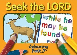 Seek the LORD - Coloring Book 15
